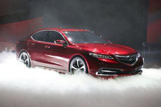 Европейский седан Acura TLX дебютирует на ММАС-2014