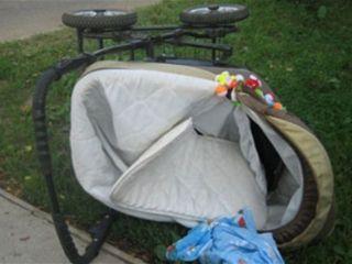 В Чувашии майор полиции сбила коляску с 2-летним ребенком