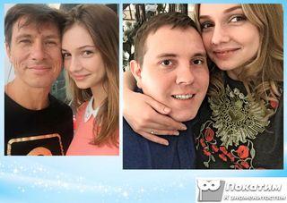 Тимур Батрутдинов, Дарья Канануха с мужем Михаилом. Фотоколлаж Покатим.ру