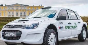 От «ВАЗа» только кузов: Представлена раллийная LADA Kalina на агрегатах «Субару»