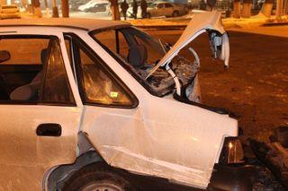 В Вологодской области водитель автомашины погиб на месте, вылетев в кювет