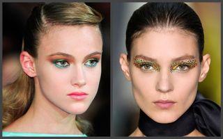 Еслиже хочется попробовать что-то новое инеобычное— макияж встиле карнавал самоето. Источник фото: www.elle.fr