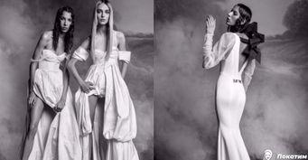 Рыбка иогромный бант: свадебные платья, которые вошли вмоду 2020
