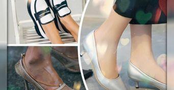 Изысканные туфли на1сентября— отквадратного мыса до«очевидной» танкетки