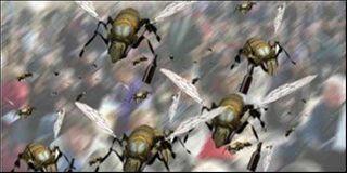 В деревне Людогощь пчёлы покусали пожилых мужчин