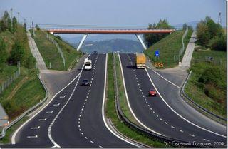 В России появятся платные скоростные полосы на дорогах