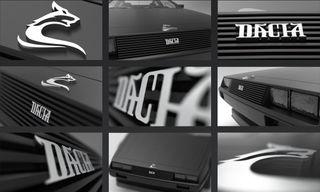 Логотип для Dacia. Концепты: Behance