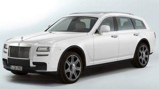 Rolls-Royce назвала свой первый внедорожник именем Cullian