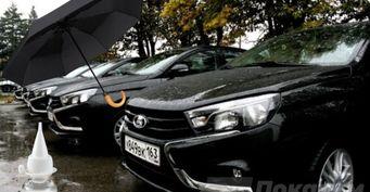 «Капля смазки инаВесте хоть под ливень»: Народный антидождь изсиликона оценили автомобилисты