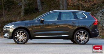 В сети появились фото обновленного кроссовера Volvo XC60