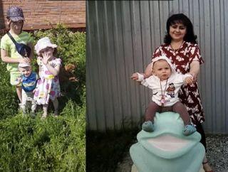 Ирина Костылева сдетьми