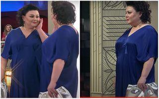 Ирина Костылева в«Модном приговоре» ввечернем платье. Скриншоты программы
