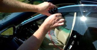 Как приклеить ветровики на машину