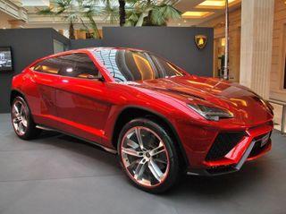 Кроссовер Lamborghini Urus получит турбомотор