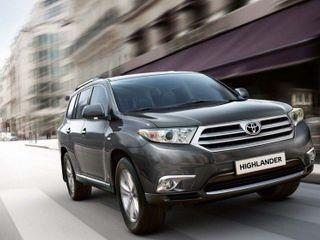 Компания Toyota отзывает более 7 тысяч кроссоверов Highlander