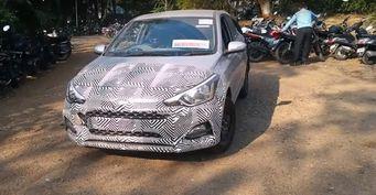 Обновленный хэтчбек Hyundai i20 «засветился» на шпионском видео