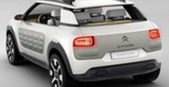 Концепт Cactus от Citroen получил цифровую панель, овальный руль и технологию Hybrid Air