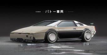 Представлен рендер спорткара Lotus из «Призрака в доспехах»