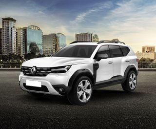 Renault Duster 2023. Рендер: Behance