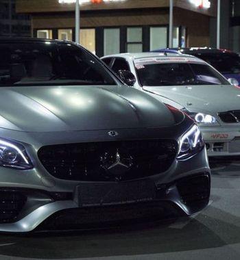 «Мыльницу» разогнали до280 км/ч: Daewoo Lanos обогнал Mercedes E63s иBMW M5
