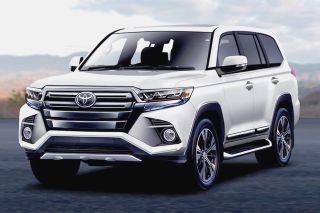 Рендер Toyota Land Cruiser 300, источник: «ВКонтакте»
