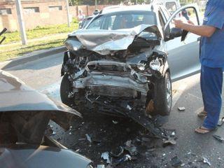 В Рязани в ДТП пострадали три человека