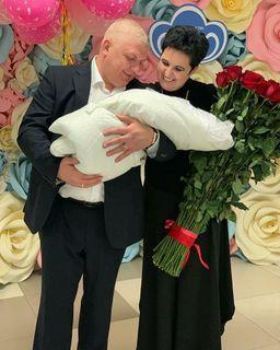Елена Голунова с мужем Олегом