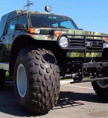 LADA 4x4 «Болотоход» – новый «проходимец» за 2 млн рублей от «АвтоВАЗ»