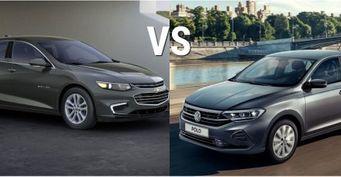 Популярный «немец» против яркого «американца»: Сравнение Volkswagen Polo и Chevrolet Malibu
