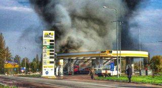 В Махачкале взорвалась АЗС, есть пострадавшие