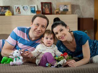 Сериальная семья Кости Воронина. Источник: riabir.ru
