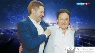 Фото: ведущий Борис Корчевников и продюсер Александр Митрошенков, pokatim.ru