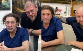 Григорий Лепс сМаксимом Новосёловым (слева) иРинатом Хамитовым (справа). Коллаж: www.instagram.com