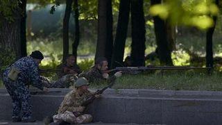 В больницы Донецка доставили 15 человек с огнестрельными ранениями
