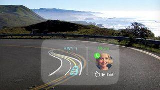 Создан автомобильный проектор, понимающий жесты и человеческую речь