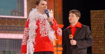 Масляков негнушался ничем ради денег. Харламов рассказал, как выступал напоминках всоставе команды КВН «МАМИ»