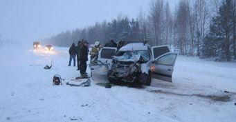 В Татарстане в ДТП погибли два человека