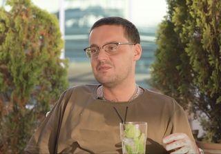 Рэпер Гуф даёт интервью «Гастролеру». Крым, октябрь 2020 года. Скриншот YouTube