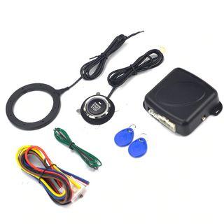 Кнопка, проводка, блок управления, магнитный замок иключи для разблокировки. Фото: AliExpress