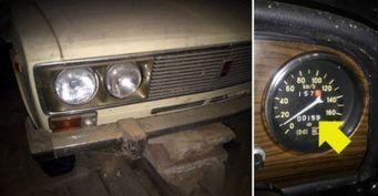 Новый ВАЗ-2106 заварили в гараже на 25 лет