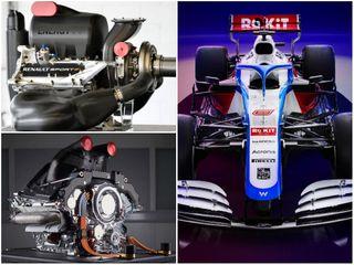 До Mercedes команда Williams использовала двигатель Renault. Фото: Pinterest, F1News