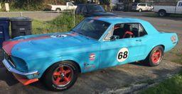 В США построили классический Ford Mustang с трубомотором Toyota