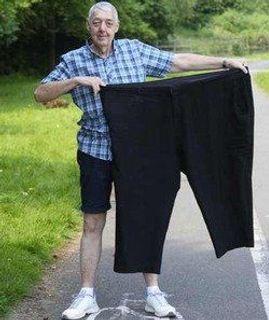 Мужчина похудел на 120 кг благодаря одному слову супруги