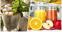 Четыре небанальных рецепта освежающих напитков