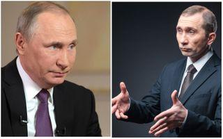 Фото: Владимир Путин иего двойник изComedy club