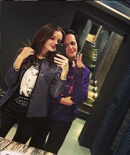 Александра Морозова и певица Слава. Фото: Instagram mami_doch