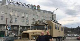 Зачем нужен Mercedes? Военный грузовик «Урал» немцы превратили в автодом