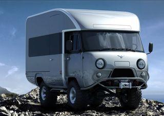 УАЗ «Буханка» второго поколения. Фото: Behance