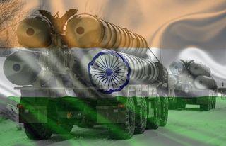 С-400 и флаг Индии