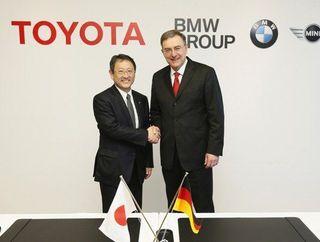 «Toyota» и «BMW» начнут разрабатывать первый совместный автомобиль